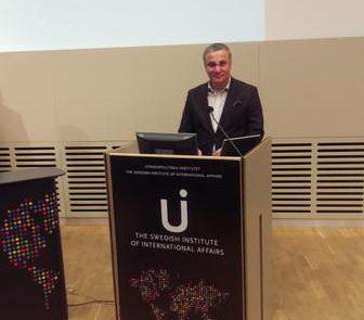 Представители Конгресса азербайджанцев Швеции на семинаре по Восточному партнерству